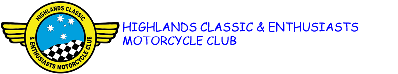 Highlands Classic and Enthusiasts Motorcycle Club